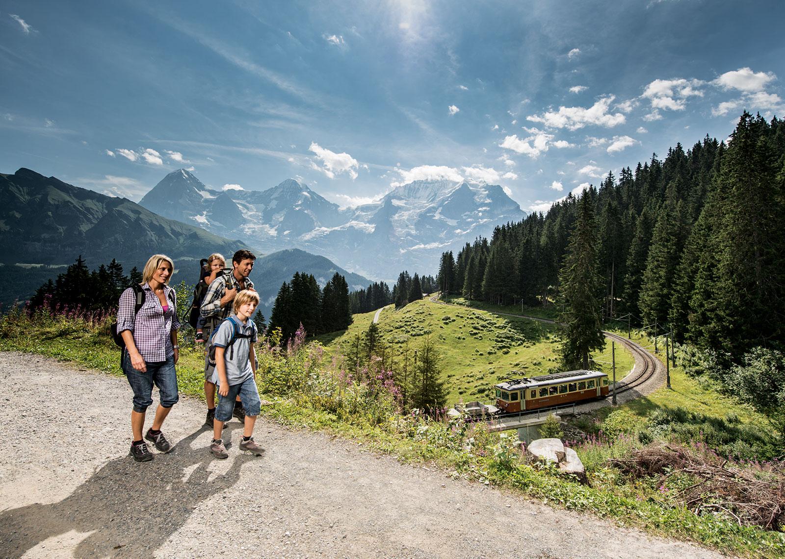 Familienurlaub In Der Schweiz Hotel Kirchb Hl In Grindelwald